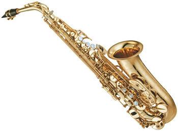 Picture of Saxophone ALTO YAMAHA CUSTOM Pavillon GRAVE/VERNI