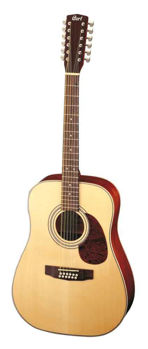 Picture of Guitare Folk 12 cordes Electro Acoustique CORT E70-12E Epicéa Massif