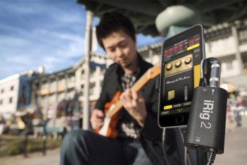 Picture of INTERFACE AUDIO ANALOGIQUE Guitare IK MULTIMEDIA pour ios