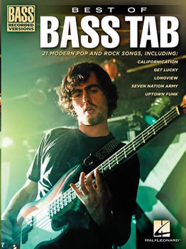 Image de BEST OF BASS TAB RECORDED VERSIONS Basse