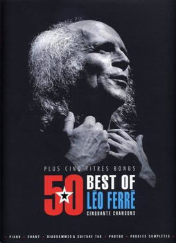 Picture of FERRE LEO 50 BEST OF Piano Voix Guitare