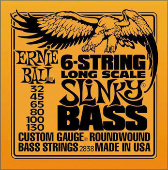 Picture of JEU Cordes Basse 6 Cordes ERNIE BALL 2838 32-130