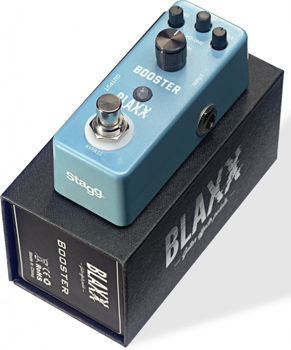 Picture of Pedale Effet BOOST BLAXX MINI PEDALE
