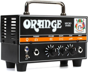 Image de Tete Amplificateur Electrique ORANGE Micro Dark 20w Hybride
