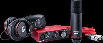 Picture of Interface Audio Numerique FOCUSRITE SCARLETT3 PACK SOLO USB-C +micro studio & casque