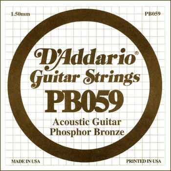 Picture of CORDE Guitare Folk 059 PHOSPHORE BRONZE