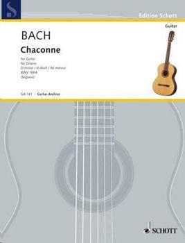 Image de BACH CHACONNE EN RE MIN Guitare