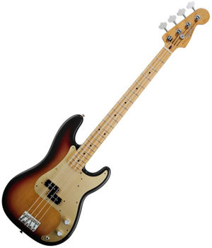 Image de Guitare Basse FENDER Classic Serie 50's PRECISION BASS 2 Color Sunburst +Housse D/