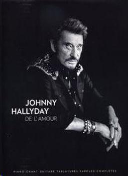 Image de HALLYDAY JOHNNY DE L'AMOUR Piano Voix Guitare et  Tablatures