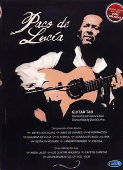 Picture of PACO DE LUCIA BEST OF GUITARE Tablatures