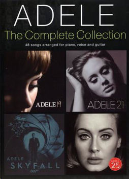 Picture of ADELE COMPLETE COLLECTION Piano Voix Guitare