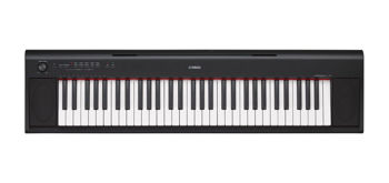 Picture of Piano numerique portable YAMAHA Piaggero NP12B 61 Touches