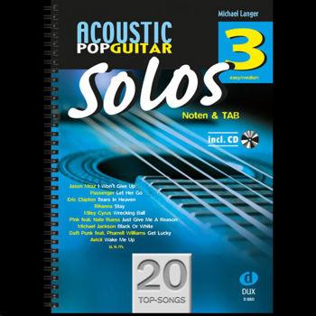 Image de ACOUSTIC POP GUITAR SOLOS 3 +CDgratuit