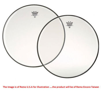 "Picture of REMO PEAU 20"" ENCORE Weatherking Ambassador Transparente"
