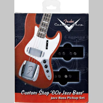 Picture of MICRO Guitare Electrique FENDER JAZZ BASS Manche American Standard Custom'60s