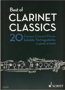 Image de BEST OF CLARINET CLASSICS 20 Pièces Clarinette & Piano