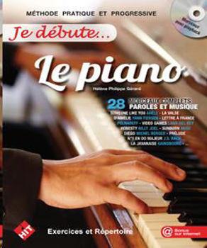 Picture of JE DEBUTE LE PIANO +CDgratuit