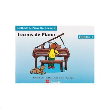Image de HAL LEONARD LECONS DE PIANO V1 Piano +CDgratuit