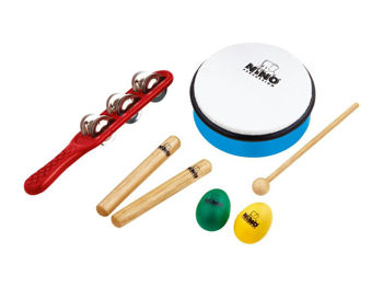 Image de KIT 5 Percussions NINOSET3 +HOUSSE