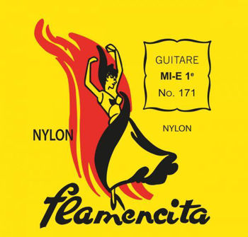 Image de JEU CORDES Guitare Classique Flamenco FLAMENCITA
