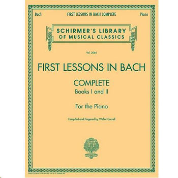 Image de BACH FIRST LESSONS IN BACH 1 & 2 Piano