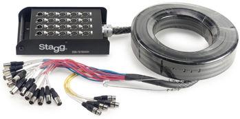 Image de Cable Multipaire STAGG 15M 16XLR Inputs 4XLR Outputs
