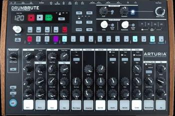 Image de Boite a Rythme ARTURIA DrumBrute 17 Instruments Séquenceur