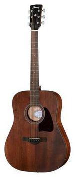 Image de Guitare Folk Acoustique IBANEZ Serie ARTWOOD AW54 Open Pore ACAJOU