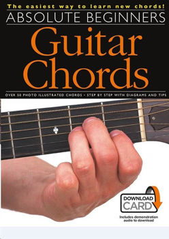 Picture of ABSOLUTE BEGINNERS GUITAR CHORDS BK + Audio Online Guitare