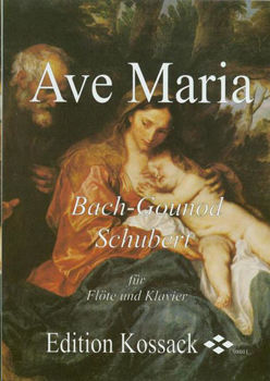 Picture of AVE MARIA BACH GOUNOD SCHUBERT  Flute Traversière et Piano