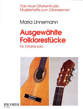 Picture of LINNEMANN AUSGEWAHLTE FOLKLORESTUCKE Ricordi Guitare Classique