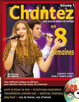 Image de CHANTEZ EN 8 SEMAINES V1 +2CDgratuits Chant