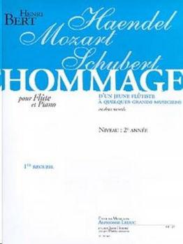 Picture of BERT HOMMAGE 1ER RECUEIL Flute traversiere et Piano