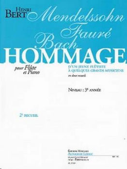 Picture of BERT HOMMAGE 2EME RECUEIL Flute traversiere et Piano