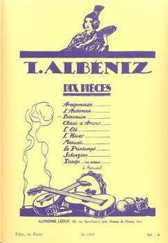 Image de ALBENIZ BERCEUSE Flute Traversière et Piano