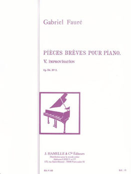 Picture of FAURE IMPROVISATION OP84 N°5 PIANO