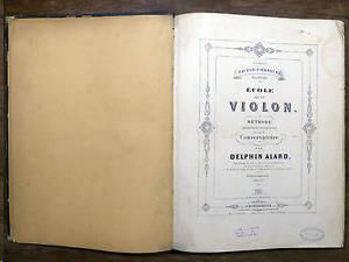 Picture of ALARD METHODE DE VIOLON Violon