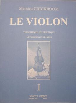 Picture of CRICKBOOM METHODE V1  Violon