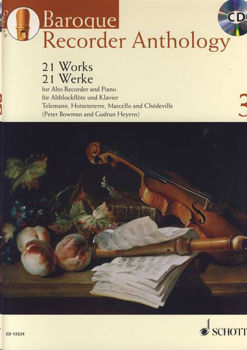 Picture of BAROQUE RECORDER ANTHOLOGY VOL3 +CDgratuit