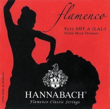Picture of Jeu Cordes Guitare Classique Flamenco HANNABACH Serie 827 Extra Forte Tension