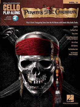 Picture of PLAY ALONG CELLO PIRATES OF THE CARIBBEAN V3 Book + Audio Online