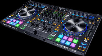 Picture of Controleur DJ DENON 4 Voies Double interface Audio MC7000 PRO