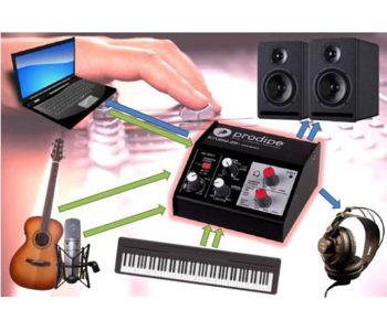 Picture of INTERFACE AUDIO PRODIPE USB +Alimentation Fantôme