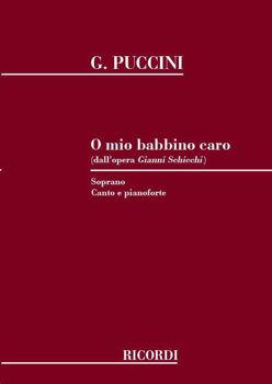 Picture of PUCCINI O MIO BABBINO CARO Soprano et Piano