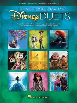 Picture of CONTEMPORARY PIANO DISNEY DUETS Piano 4 mains