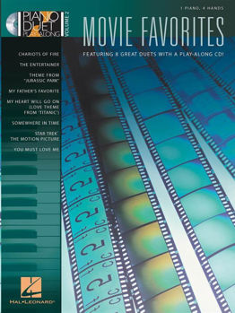 Picture of Piano Duet PLAY ALONG V2 MOVIE FAVORITES +CDgratuit Piano 4 mains