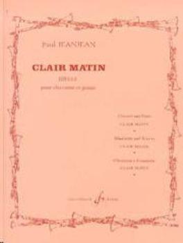 Image de JEANJEAN PAUL CLAIR MATIN IDYLLE Clarinette et piano