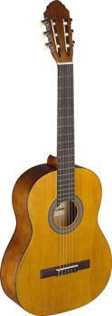 Picture of Guitare CLASSIQUE 4/4 STAGG Naturel Satiné