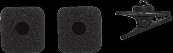Picture of Bonnette Micro SHURE 2 Mousses PGA31 +Pince