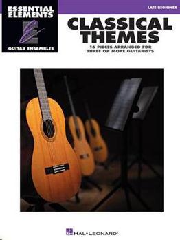 Image de CLASSICAL THEMES 16 pièces Classiques pour Ensembles de guitares